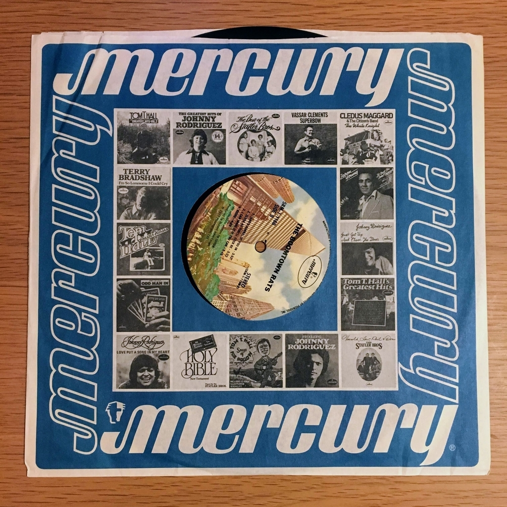 レコード盤を包むシート