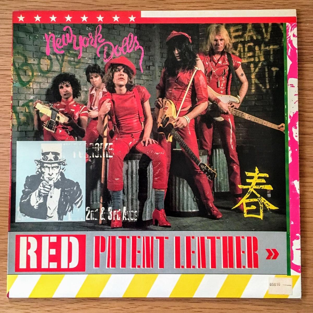 ニューヨーク・ドールズのRed Patent Leather レコード