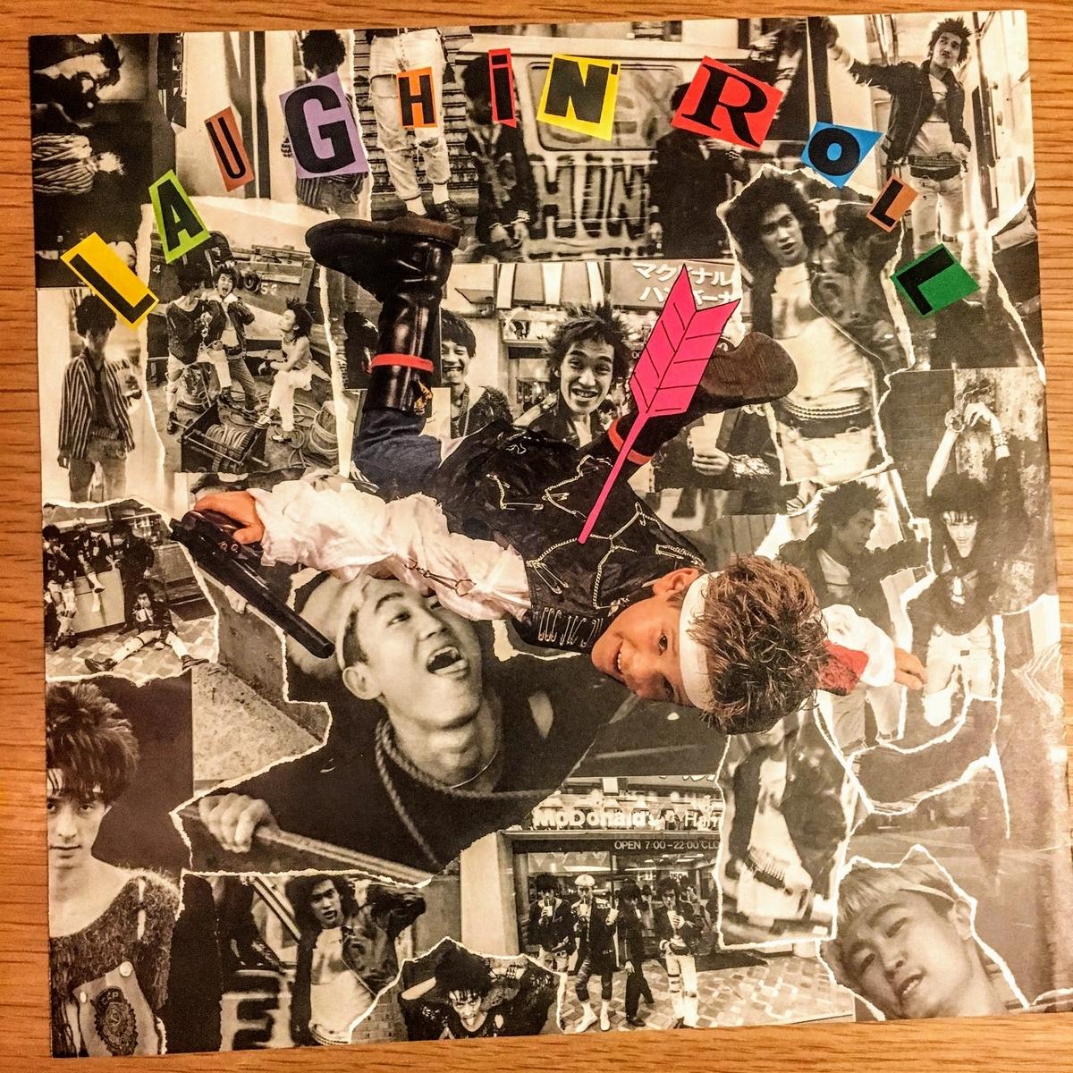 LAUGHIN' NOSE LAUGHIN' ROLLのレコード 中身2