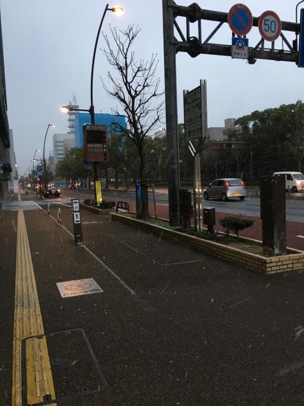 高松市内の雪