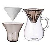キントー コーヒーカラフェセット SCS-02-CC-PL 600ml 27644