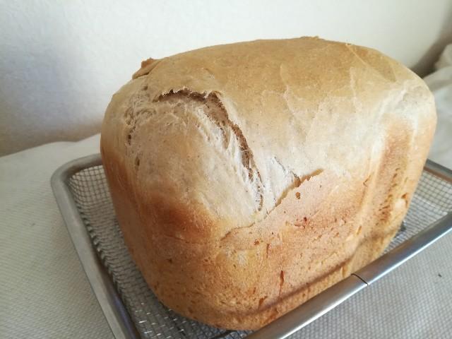 パナソニックホームベーカリーで作った無添加食パン