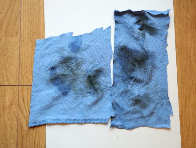 ラナパーの使い方①取れた汚れの写真