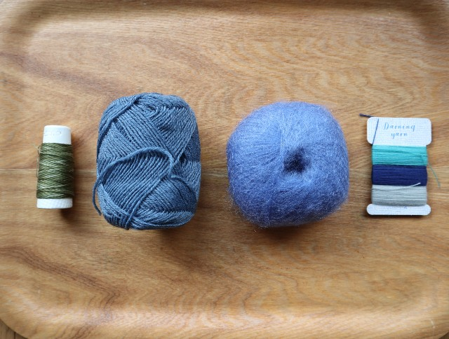 ダーニング糸の写真