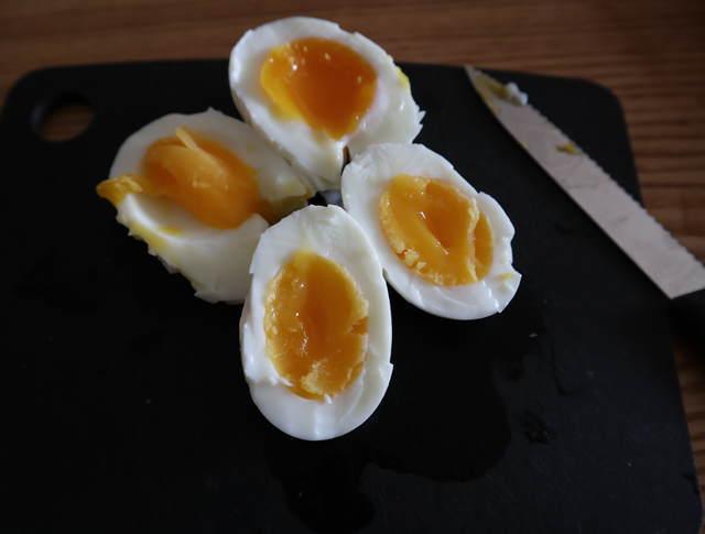 残念ゆで卵の写真