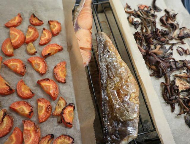 ヘルシオレシピ_焼き魚と添え野菜の完成写真