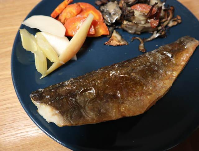 ヘルシオレシピ_まかせて調理_焼き魚の完成写真