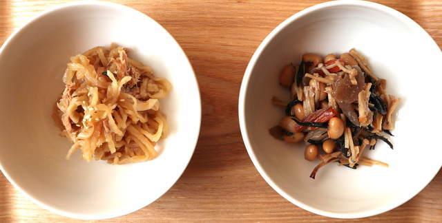 ヘルシオレシピ_切り干し大根とひじきの煮物(同時調理)