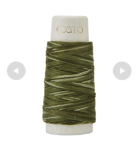 刺し子糸の写真