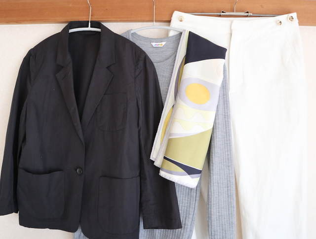 通勤服パターン化_春服の写真2