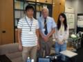 with Prof. Olson @ Tsukuba 2011/09/12