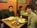 with friend @ Manchester, UK 2012/12/10