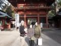 with my family @ Kashima shrine 2013/02/17