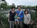 Sawara iris garden 2013/06/16