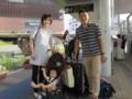 Leaving Tsukuba 2013/09/24