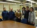 with visitors from Japan @ Northwestern university, Evanston 2014/03/27