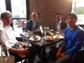 visitors from NIMS @ Smile Brothers Brewing, Evanston 2015/06/30