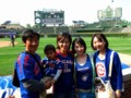 cubs vs marlins @ Wrigley field, Chicago 2015/07/03