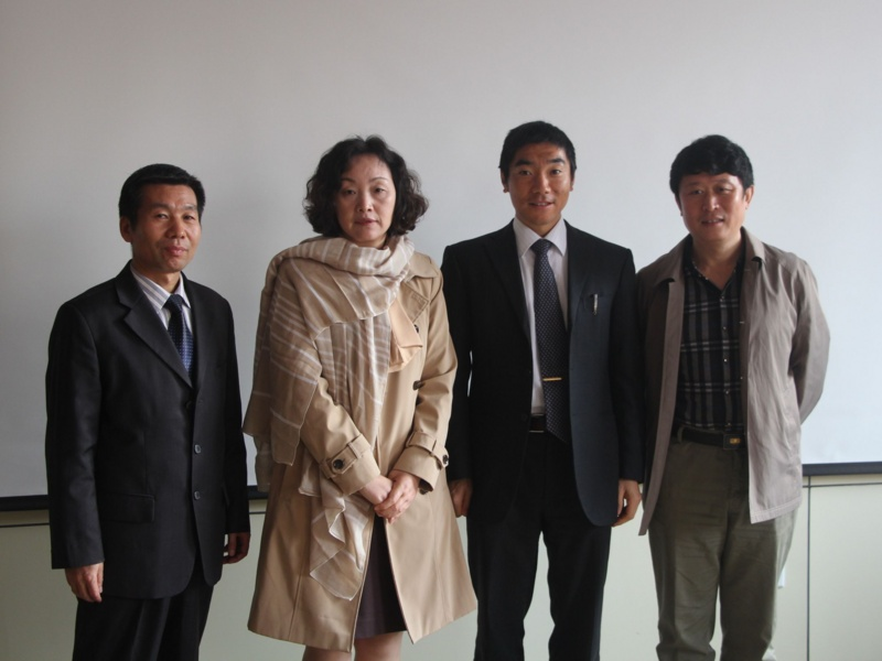 with professors @ Shangdong university of science and technology, Qingdao, China 2015/11/03