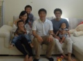 with my friend's family @ Swansea, Wales, UK 2016/06/11