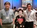 with Prof. Tasan and Maiko in PRICM9 @ Kyoto 2016/08/04