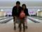 my son's first bowling @ Shiobara spa, NasuShiobara 2017/02/19