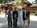 wedding ceremony @ Hakone shrine 2017/06/04