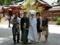 wedding ceremony @ Hakone shrine 2017/06/04