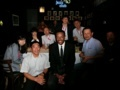after banquet of ICOMAT2017 @ Andy's jazz club, Chicago 2017/07/13