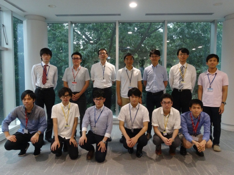research meeting @ NIMS, Tsukuba 2017/08/01