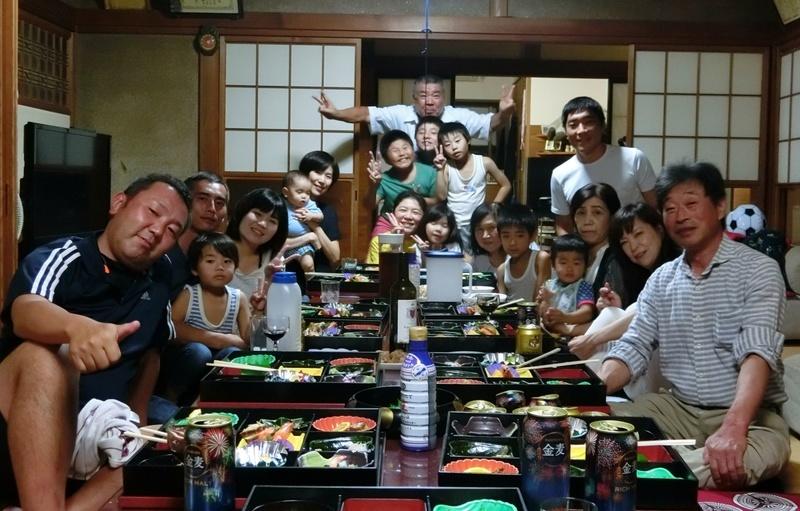 with my family @ Niigata 2018/09/15
