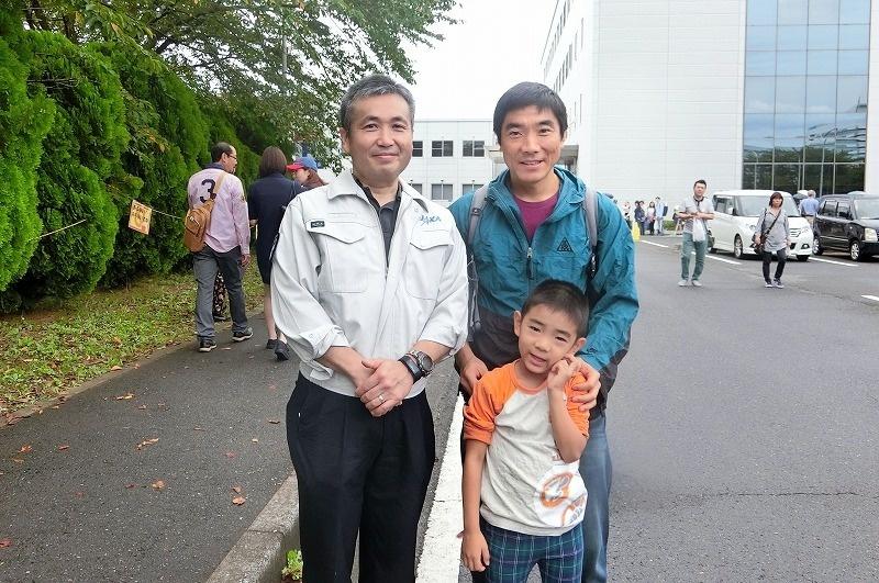 JAXA open house with Koichi Wakata @ Tsukuba 2018/09/29