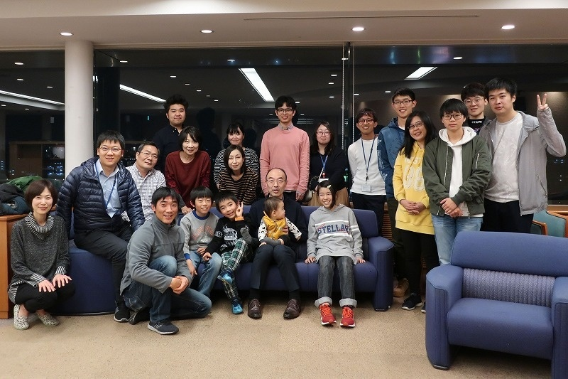 year-end party @ Tsukuba 2018/12/06
