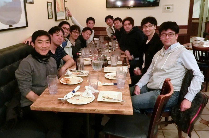 with friends @ Evanston, USA 2019/03/24