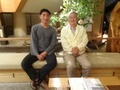 with Prof. Ushioda @ Kanazawa, Ishikawa 2019/05/12