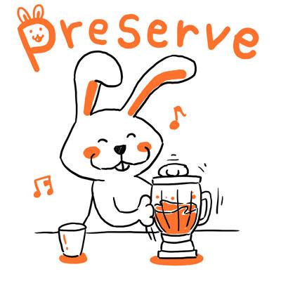 preserve 維持する 英単語