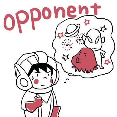 opponent 相手 英単語