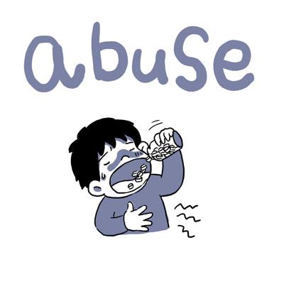 abuse 乱用 英単語