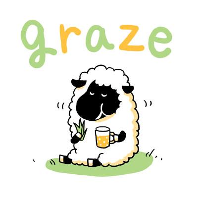 graze 草を食う 英単語