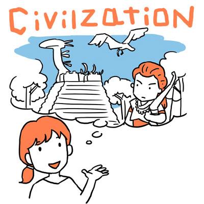 civilization 文明 英単語