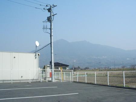 もうすぐ筑波山。