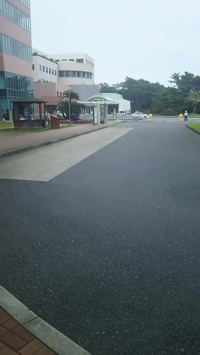 亀田病院バス停