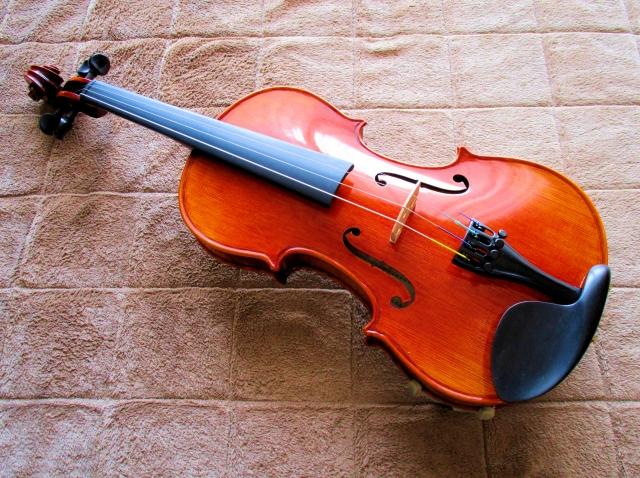 ヴァイオリンはいかり肩