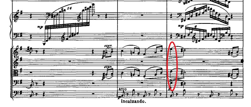 パ・ド・ドゥの倚音の例2