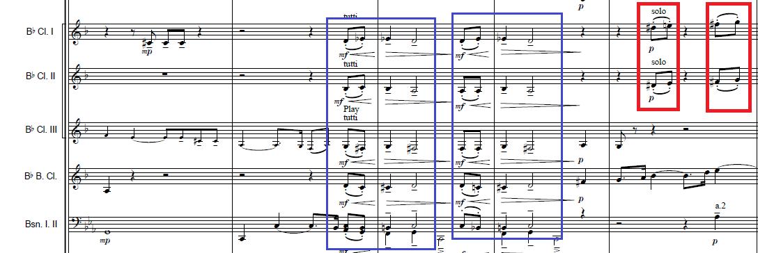 序奏の動機の断片
