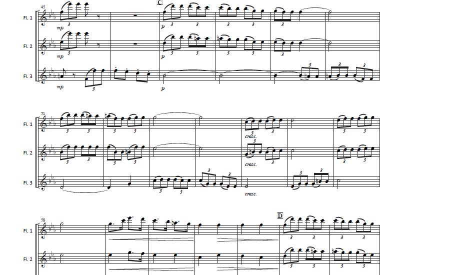 第一楽章 第二主題