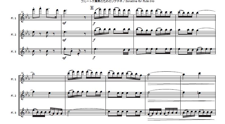 第三楽章 B部分