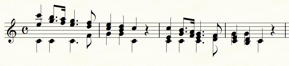 声部の交差