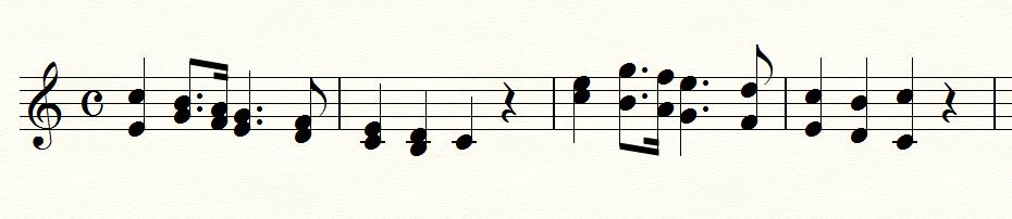 声部の逆転