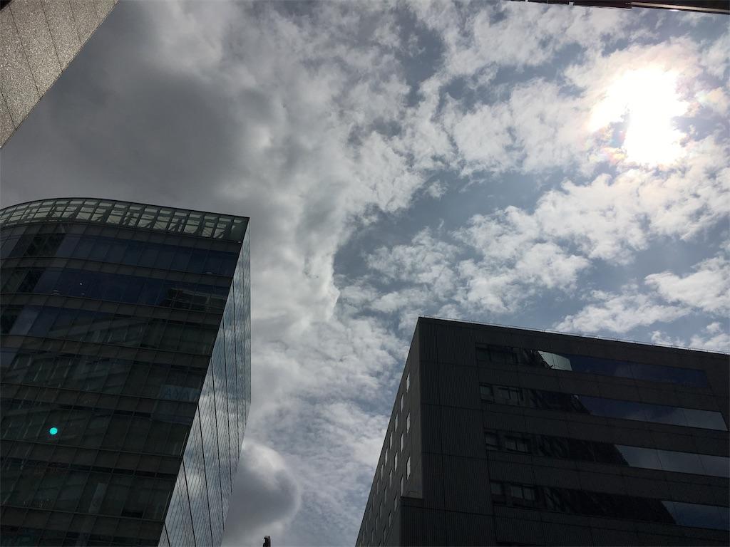 曇りの写真